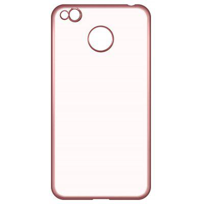 Buy ROSE GOLD ASLING Electroplating TPU Phone Case for Xiaomi Redmi 4X for $3.19 in GearBest store