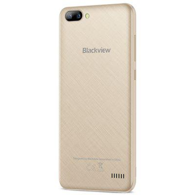 Blackview A7 3G SmartphoneCell phones<br>Blackview A7 3G Smartphone<br><br>2G: GSM 1800MHz,GSM 1900MHz,GSM 850MHz,GSM 900MHz<br>3G: WCDMA B1 2100MHz,WCDMA B8 900MHz<br>Additional Features: Alarm, Bluetooth, Browser, Calculator, Camera, Calendar, GPS, WiFi, MP4, MP3, 3G<br>Back Case : 1<br>Back-camera: 0.3MP + 5.0MP<br>Battery Capacity (mAh): 2800mAh<br>Battery Type: Non-removable<br>Bluetooth Version: V4.1<br>Brand: Blackview<br>Camera type: Triple cameras<br>Cell Phone: 1<br>Cores: Quad Core, 1.3GHz<br>CPU: MTK6580A<br>English Manual : 1<br>External Memory: TF card up to 32GB (not included)<br>Front camera: 2.0MP<br>Google Play Store: Yes<br>I/O Interface: TF/Micro SD Card Slot, Speaker, Micophone, 2 x Micro SIM Card Slot, 3.5mm Audio Out Port, Micro USB Slot<br>Language: Multi language<br>Music format: MP3, AAC<br>Network type: GSM,WCDMA<br>OS: Android 7.0<br>Package size: 15.50 x 8.30 x 4.00 cm / 6.1 x 3.27 x 1.57 inches<br>Package weight: 0.3350 kg<br>Picture format: BMP, PNG, JPG, JPEG, GIF<br>Power Adapter: 1<br>Product size: 14.30 x 7.10 x 0.95 cm / 5.63 x 2.8 x 0.37 inches<br>Product weight: 0.1750 kg<br>RAM: 1GB RAM<br>ROM: 8GB<br>Screen resolution: 1280 x 720 (HD 720)<br>Screen size: 5.0 inch<br>Screen type: Capacitive<br>Sensor: Gravity Sensor<br>Service Provider: Unlocked<br>SIM Card Slot: Dual SIM, Dual Standby<br>SIM Card Type: Micro SIM Card<br>Type: 3G Smartphone<br>USB Cable: 1<br>Video format: MKV, 3GP, MP4<br>WIFI: 802.11b/g/n wireless internet<br>Wireless Connectivity: GPS, WiFi, Bluetooth, 3G, GSM