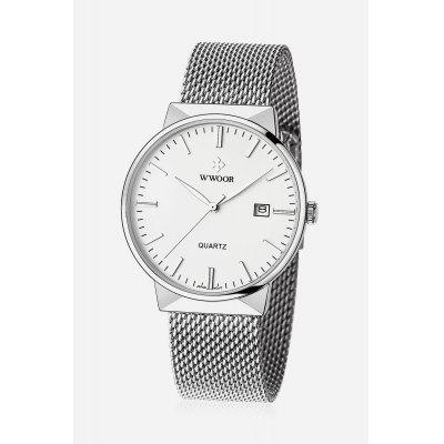 WWOOR 8826M Men Quartz Watch