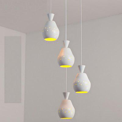 LANZE Modern Simple Three Head LED Pendant Light220V