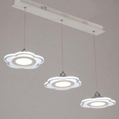 Modern Simple Creative Iron LED Pendant Light 220V