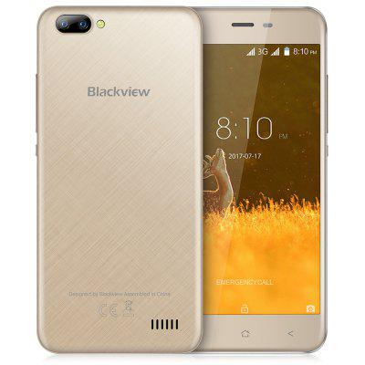 Blackview A7 3G Smartphone  -  GOLDEN