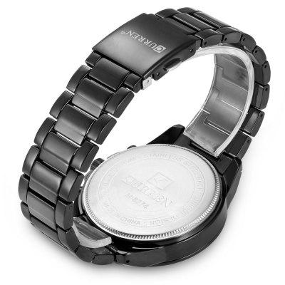 8274 Quartz Men WatchMens Watches<br>8274 Quartz Men Watch<br><br>Band material: Alloys<br>Brand: Curren<br>Case material: Alloy<br>Clasp type: Folding clasp with safety<br>Display type: Analog<br>Hour formats: 12 Hour<br>Movement type: Quartz watch<br>Package Contents: 1 x Watch, 1 x Box<br>Package size (L x W x H): 28.00 x 5.50 x 2.20 cm / 11.02 x 2.17 x 0.87 inches<br>Package weight: 0.2200 kg<br>Product size (L x W x H): 27.00 x 4.50 x 1.20 cm / 10.63 x 1.77 x 0.47 inches<br>Product weight: 0.1490 kg<br>The band width: 2.2cm<br>The dial diameter: 4.5cm<br>The dial thickness: 1.2cm<br>Watches categories: Men<br>Water resistance: Life water resistant