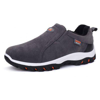 Plus Size Outdoor Slip-on Hiking Shoes for Men