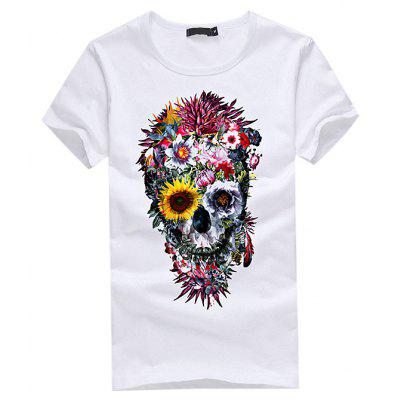 3D Gothic Printed Leisure T-shirt for Women