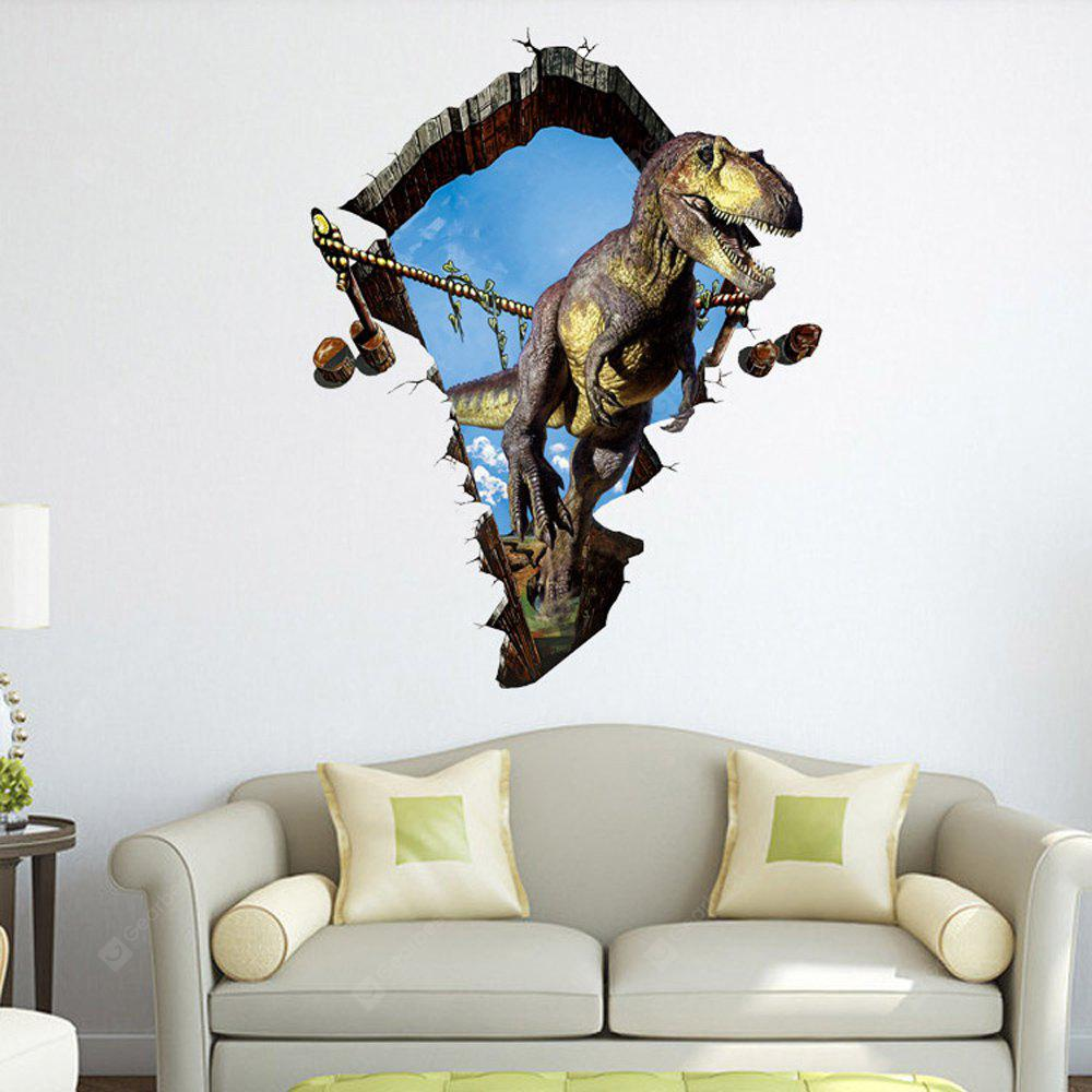 3D Dinosaur Wall Stickers Decals