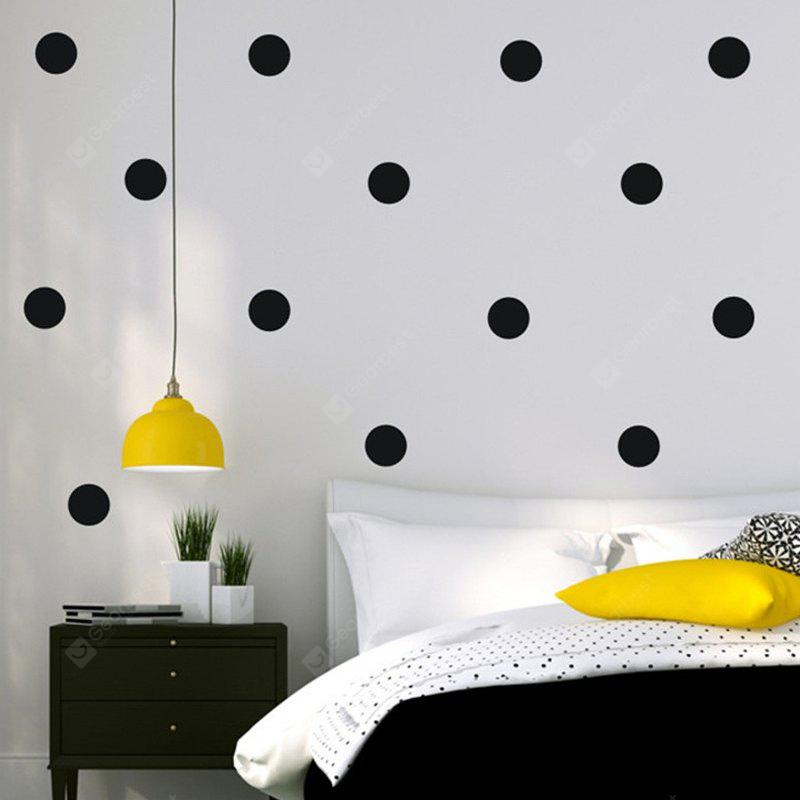 Buy AY - 366 Creative DIY Dot Style Decorative Wall Sticker 3BLACK