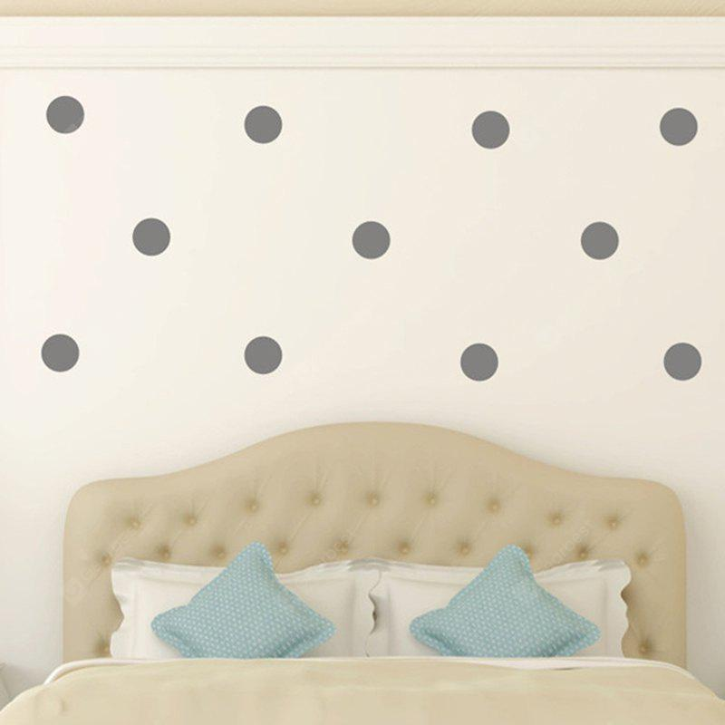 Buy AY - 366 Creative DIY Dot Style Decorative Wall Sticker 3GRAY