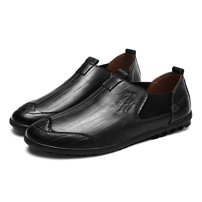 clearance professional Stylish British Slip-on Leather Shoes for Men cheap newest official site for sale QIaZ8lEtc2