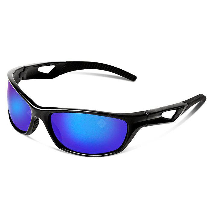 BLUE AND BLACK Anti-dust Protective Polarized Lens Cycling Glasses