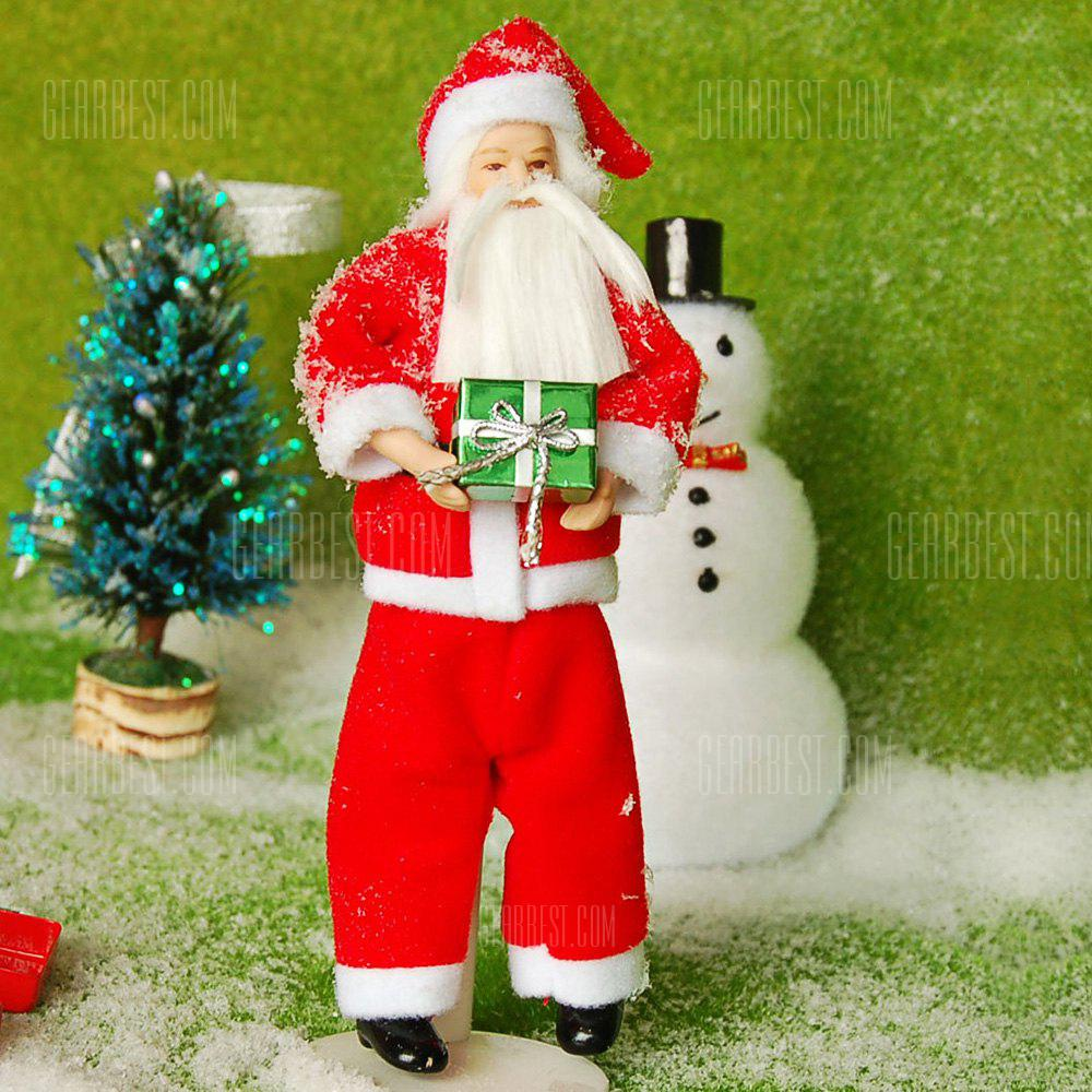 Buy Santa Claus Style Ceramic Doll COLORMIX