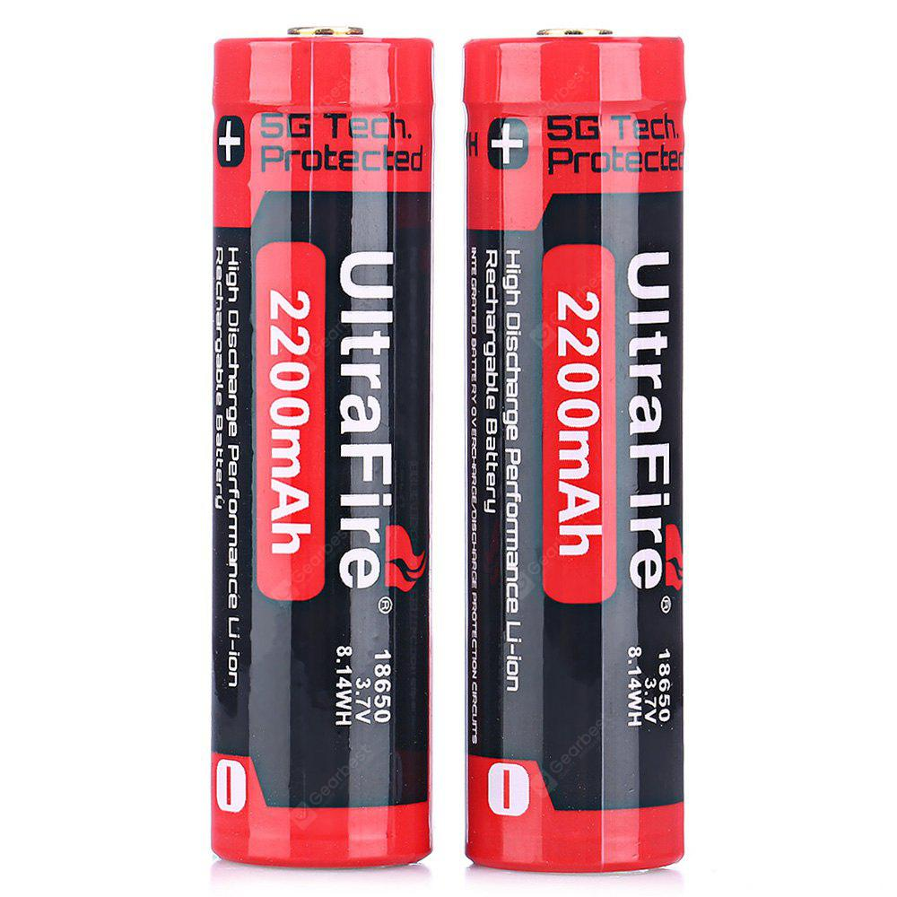 Ultrafire 18650 Li Ion Rechargeable Battery 814 Free Shipping 2400mah Liion Batteries W Protection Circuit
