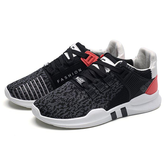 Men Chic Breathable Jogging Sneakers 40 GRAY