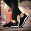 Plus Size Outdoor Slip-on Hiking Shoes for Men - BLACK