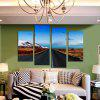 Buy Highway Landscape Printed Canvas Wall Sticker COLORMIX
