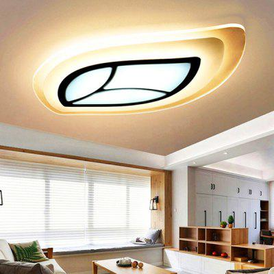 Multipurpose Leaf-like Acrylic LED Ceiling Light 220V