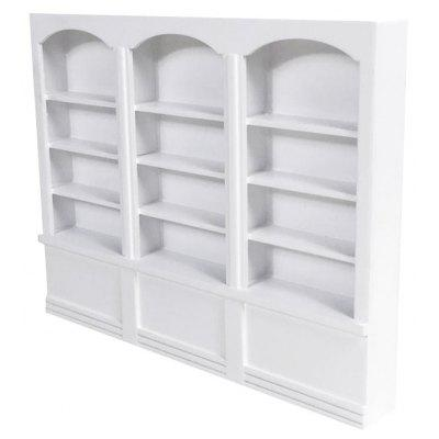 Buy WHITE Miniature Wooden Bookshelf for $13.72 in GearBest store