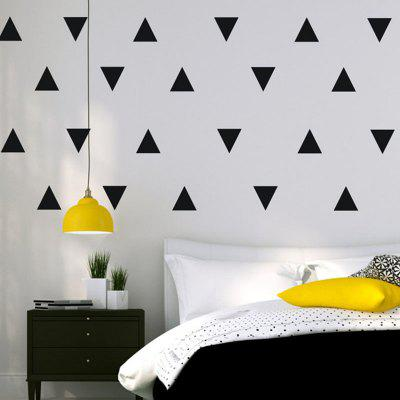 AY - 364 Creative DIY Triangle Wall Sticker 32pcs