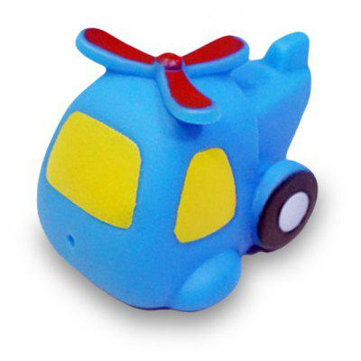 Helicopter Style Vinyl Squirt Toy