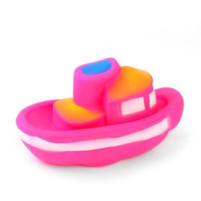 Steamship Style Vinyl Squirt Sound Toy