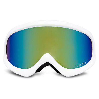 Detachable PC Lens UV400 Anti-fog Child Skiing Glasses