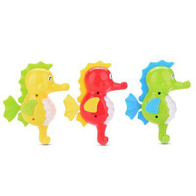 Sea Horse Style Wind-up ToyPretend Play<br>Sea Horse Style Wind-up Toy<br><br>Age: 3 Years+<br>Applicable gender: Unisex<br>Design Style: Animal<br>Features: Sports<br>Material: Plastic<br>Package Contents: 1 x Wind-up Toy<br>Package size (L x W x H): 13.00 x 7.00 x 16.00 cm / 5.12 x 2.76 x 6.3 inches<br>Package weight: 0.0650 kg<br>Product size (L x W x H): 11.00 x 5.50 x 14.00 cm / 4.33 x 2.17 x 5.51 inches<br>Product weight: 0.0420 kg<br>Small Parts : Yes<br>Type: Outdoor Toys<br>Washing: No