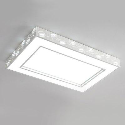 BRELONG 80W Luxury Inlaid Crystal  Ceiling AC180 - 240VFlush Ceiling Lights<br>BRELONG 80W Luxury Inlaid Crystal  Ceiling AC180 - 240V<br><br>Brand: BRELONG<br>Illumination Field: 20 - 35sqm<br>Optional Light Color: Warm White + White<br>Package Contents: 1 x Ceiling Light, 1 x Remote Controller<br>Package size (L x W x H): 100.00 x 70.00 x 15.00 cm / 39.37 x 27.56 x 5.91 inches<br>Package weight: 8.7700 kg<br>Product size (L x W x H): 96.00 x 63.00 x 10.00 cm / 37.8 x 24.8 x 3.94 inches<br>Product weight: 8.2500 kg<br>Sheathing Material: PVC, Metal<br>Type: Ceiling Lights<br>Voltage (V): 180-240V<br>Wavelength / CCT: 3000-6500K