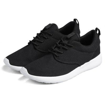 Breathable Lace-up Sports Sneakers for Men