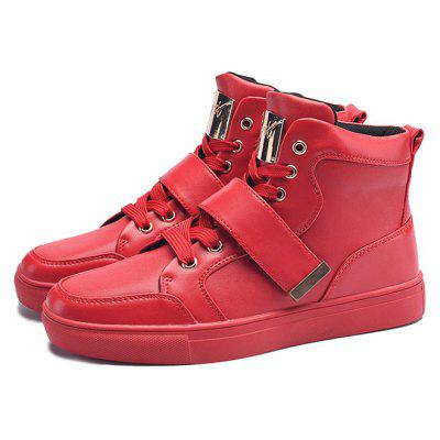 Stylish High Top Leisure Skateboarding Chaussures pour hommes