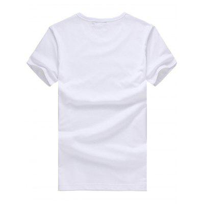 3D Shoes Pattern Short Sleeves T-shirt for MenMens Short Sleeve Tees<br>3D Shoes Pattern Short Sleeves T-shirt for Men<br><br>Fabric Type: Cotton<br>Neckline: Round Collar<br>Package Content: 1 x T-shirt<br>Package size: 26.00 x 20.00 x 1.00 cm / 10.24 x 7.87 x 0.39 inches<br>Package weight: 0.2400 kg<br>Pattern Type: Print<br>Product weight: 0.2000 kg<br>Season: Summer<br>Sleeve Length: Short Sleeves