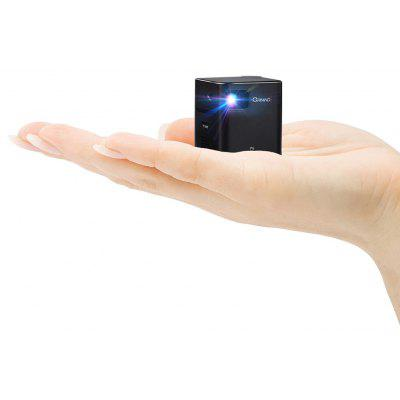 Orimag P6 Portable Smart Mini DLP LED WiFi Projector - UNIVERSAL PLUG BRIGHT BLACK