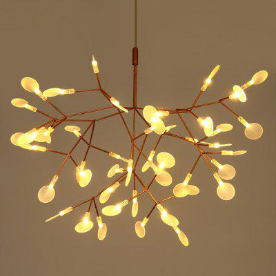 Art Creative Leaf Firefly  LED Chandelier 220V
