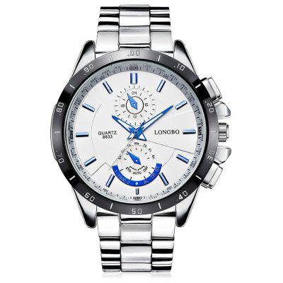 LONGBO 8833 Luminous Water-resistant Quartz Watch