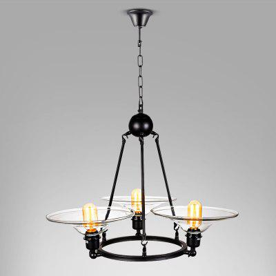 WENTUO QM - LXJ003B Iron Pendant Light 220 - 240V