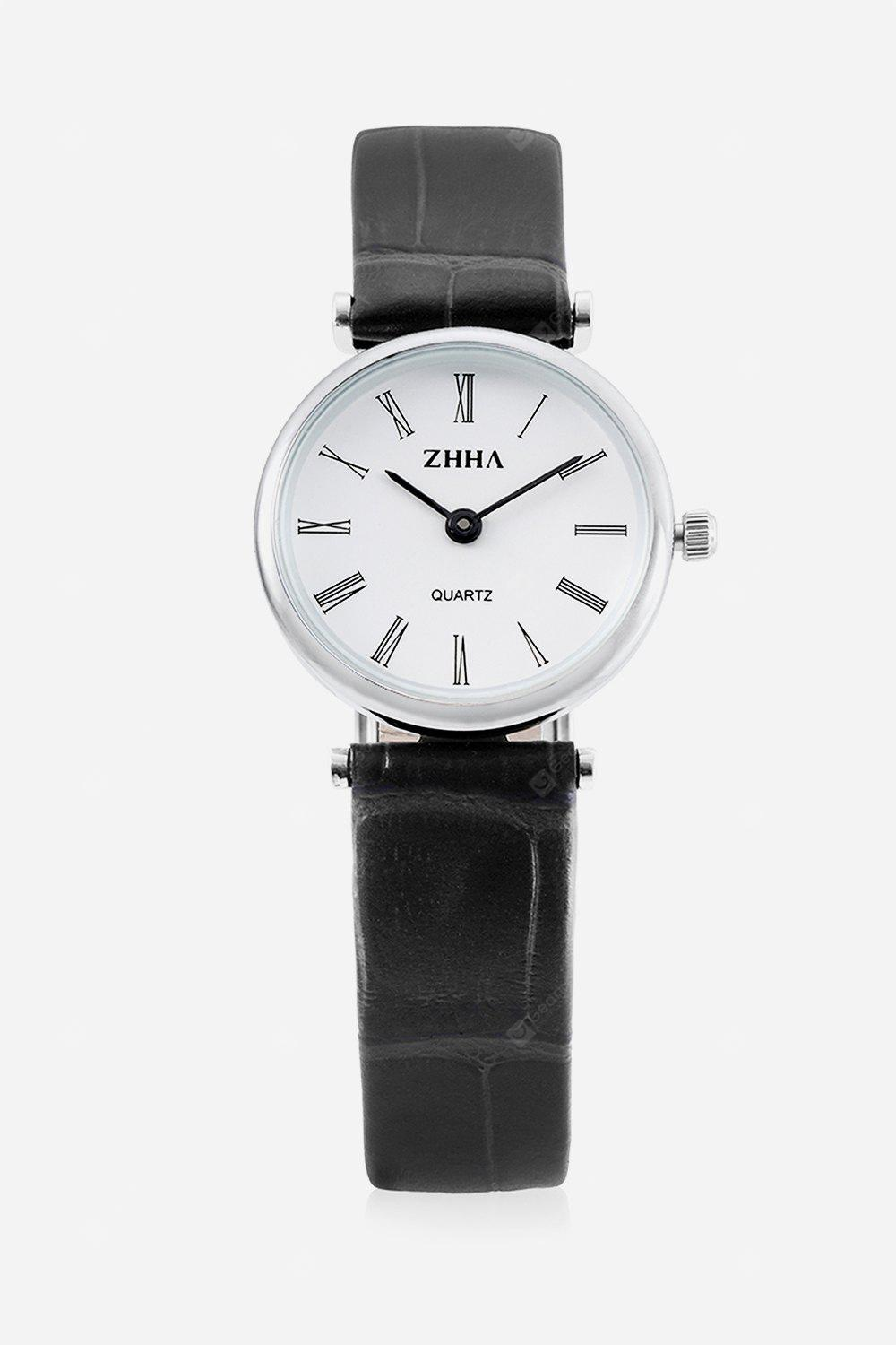 Casual Women Watch with Leather Band