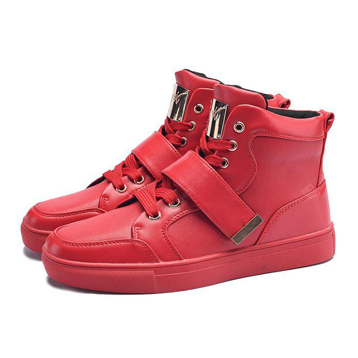 Stylish High Top Leisure Skateboarding Shoes for Men
