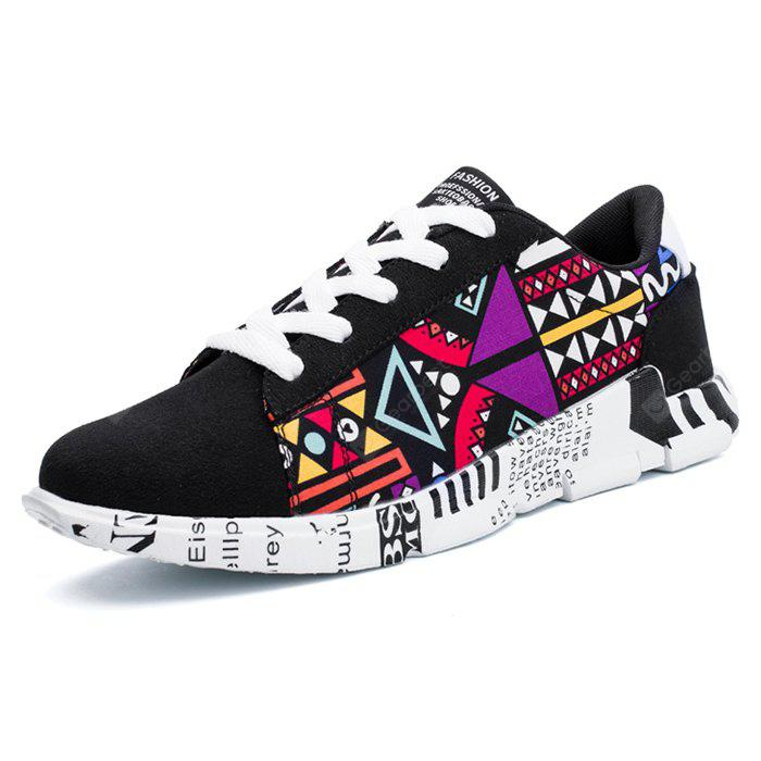 Printed Thick Soles Casual Sneakers for Men