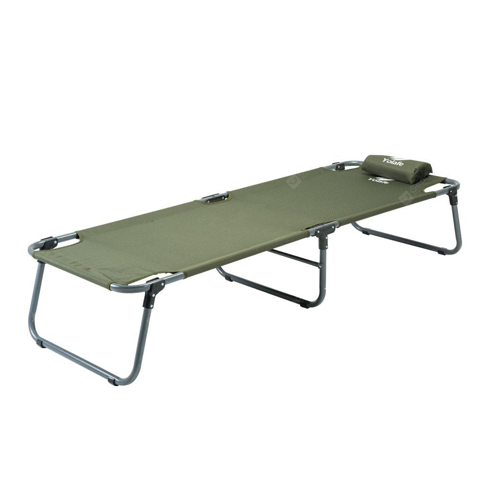 Yolafe Multifunctional Folding Camping Bed Simple Cot