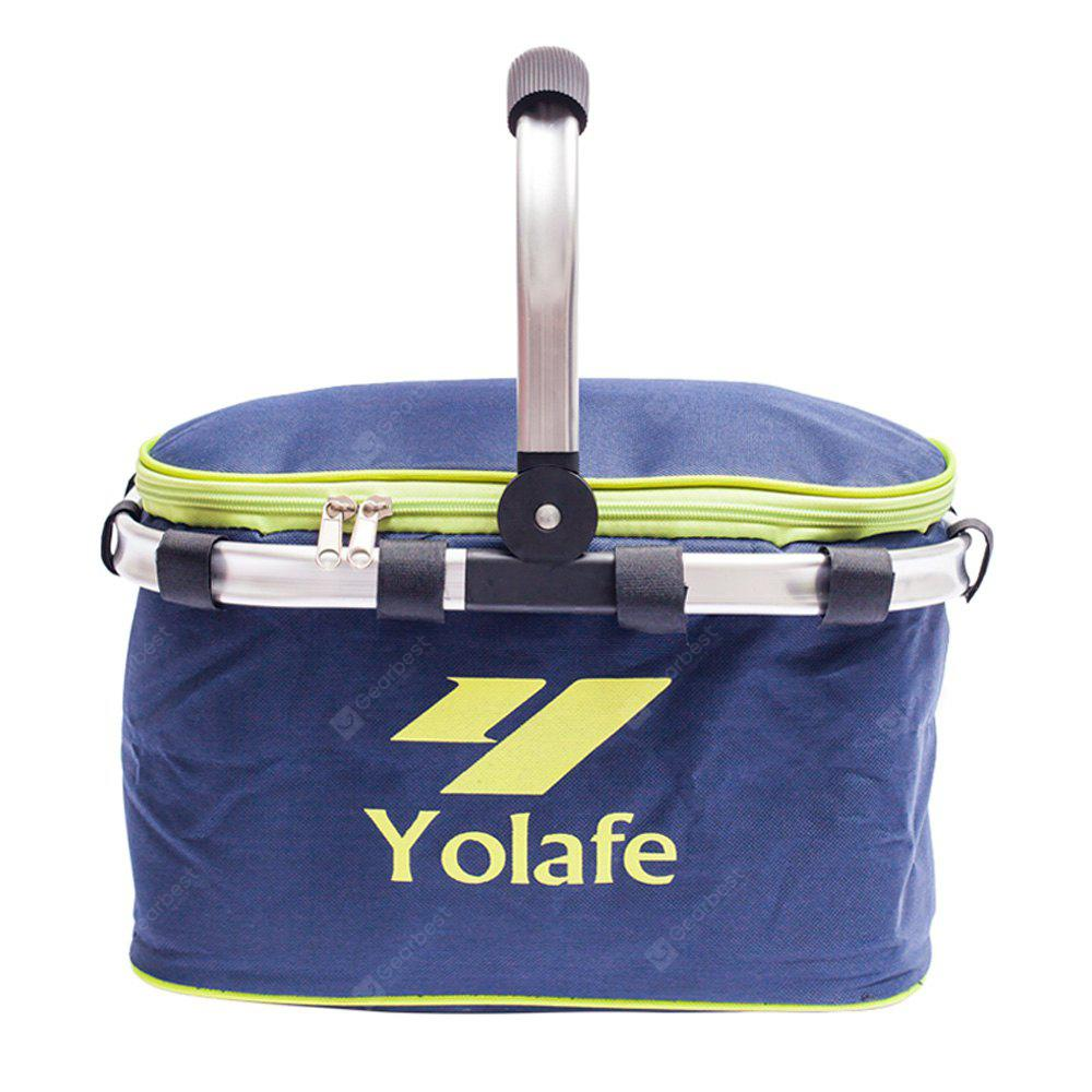Yolafe Collapsible Multifunctional Insulated Picnic Basket