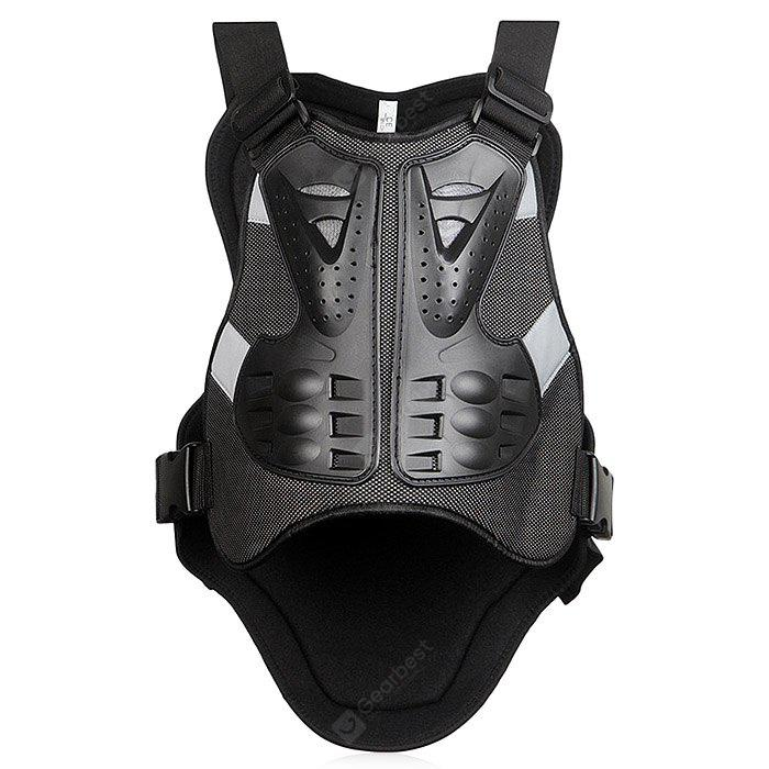 WOSAWE BC334 Motorcycle Armor Vest Cycling Body Protector