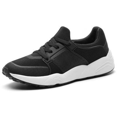 Men Breathable Low Top Running Shoes