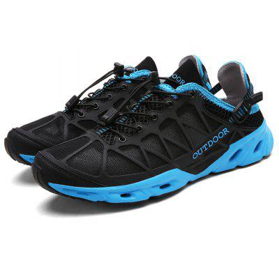 Buy Breathable Outdoor Hiking / Climbing Shoes for Men, BLACK, 44, Bags & Shoes, Men's Shoes, Athletic Shoes for $26.01 in GearBest store