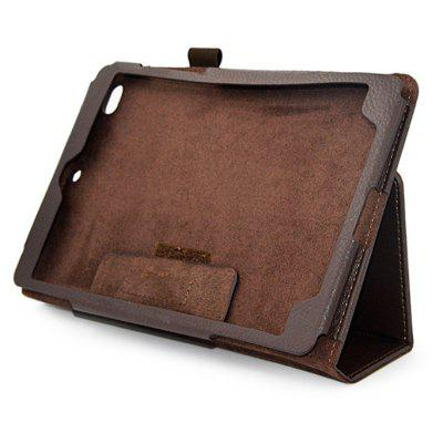 Lichee Grain Tri-foldable PU Cover Case for Xiaomi Mi Pad 3