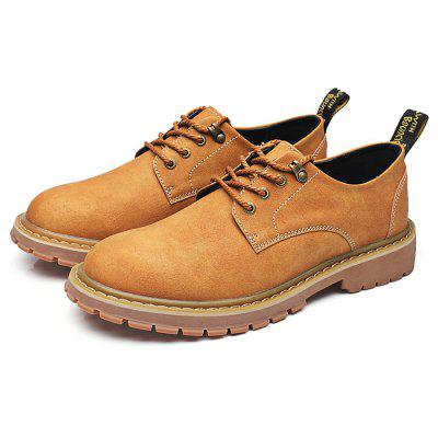 PU British Style Casual / Working Shoes for Men
