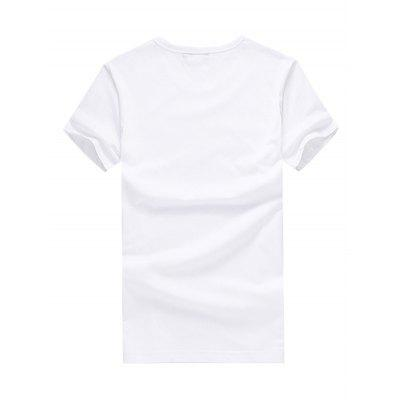 Men UK Flag Print Round Neck Short Sleeve T-shirtMens Short Sleeve Tees<br>Men UK Flag Print Round Neck Short Sleeve T-shirt<br><br>Material: Cotton<br>Neckline: Round Neck<br>Package Content: 1 x T-shirt<br>Package size: 26.00 x 20.00 x 1.00 cm / 10.24 x 7.87 x 0.39 inches<br>Package weight: 0.2500 kg<br>Product weight: 0.2000 kg<br>Season: Summer<br>Sleeve Length: Short Sleeves<br>Style: Fashion, Casual