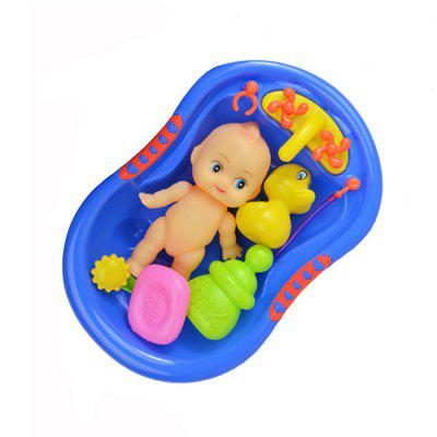 5pcs / set Baby Shower Bath Pretend Play ToyPretend Play<br>5pcs / set Baby Shower Bath Pretend Play Toy<br><br>Age: 6 Months+<br>Applicable gender: Unisex<br>Design Style: Other<br>Features: Baby Care<br>Material: Plastic<br>Package Contents: 1 x Pretend Play Toy Set<br>Package size (L x W x H): 25.00 x 16.00 x 9.00 cm / 9.84 x 6.3 x 3.54 inches<br>Package weight: 0.2000 kg<br>Product size (L x W x H): 22.50 x 15.00 x 8.00 cm / 8.86 x 5.91 x 3.15 inches<br>Product weight: 0.1600 kg<br>Small Parts: Yes<br>Type: Water Toys<br>Washing: Yes