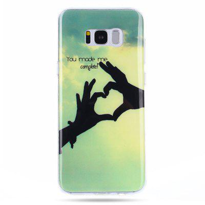 LEEHUR Individualized Colored Drawing Case for Samsung Galaxy S8