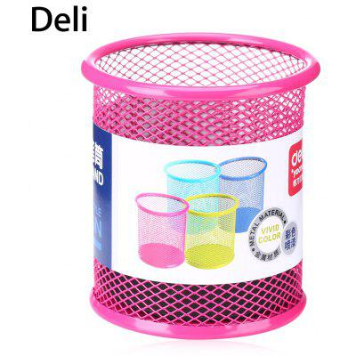 Deli 9153 Metal Mesh Pen Holder Desk Organizer