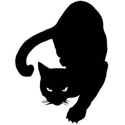 12 x 16CM Pet CAT Car Sticker