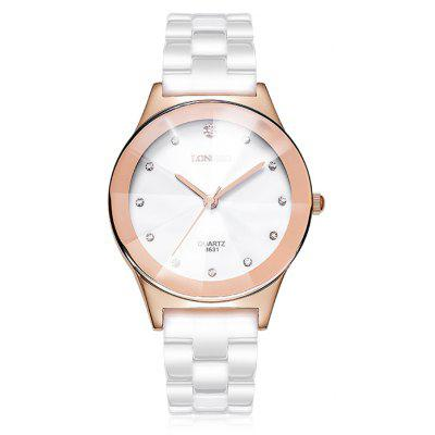 LONGBO 8631 Fashionable Water-resistant Female Quartz Watch